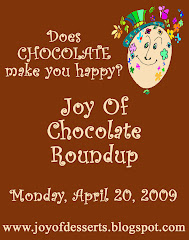 The Joy Of Chocolate Roundup Coming On April 30, 2009
