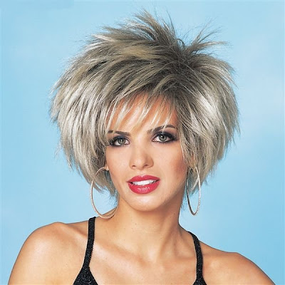 Spiky Short Layered Hairstyle 2012 For Women COOL-HAIR.COM | COOL