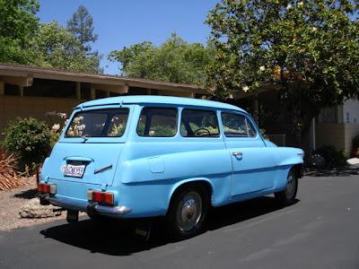Grey In The Usa 1969 Skoda Octavia Combi
