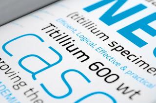 Tipografia TitilliumText