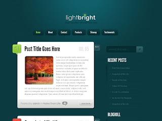 LightBright ElegantThemes Premium Wordpress Template