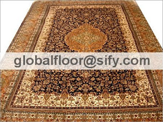 silk carpets india