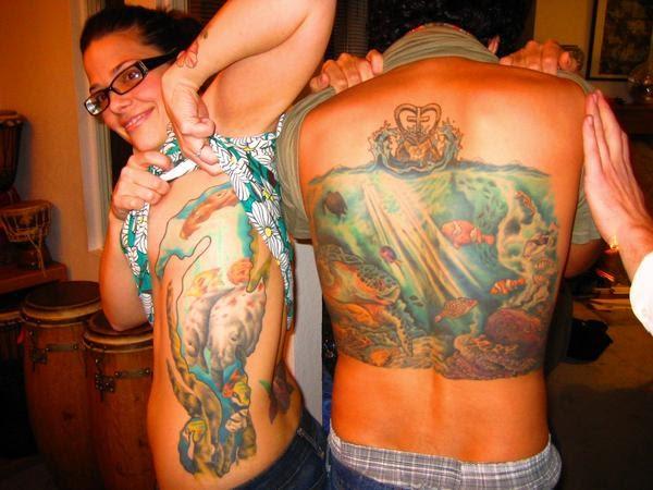 Deco aurora tropi cool tattoo for Tattoo shops in aurora
