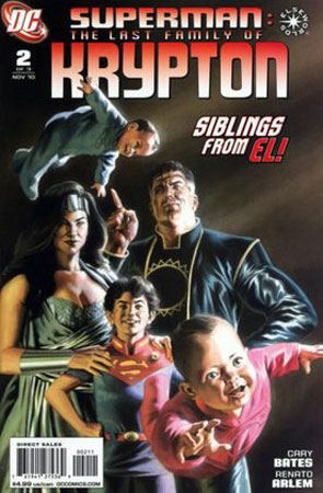 Comic Book Review: The Last Family of Krypton #2