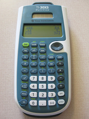 Brandon Notices: TI-30XS Multiview Calculator