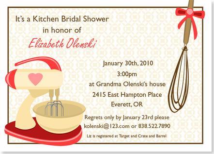 Az In August Bridal Shower Kitchen Edition