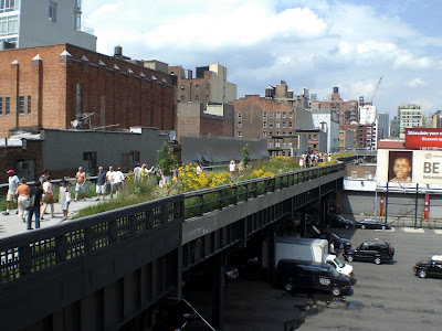 NYにある公園The High Line