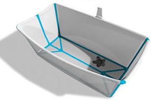 badekar sammenleggbart