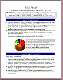 RP Executive Resume Service: Resume Samples by Ramsey Penegar