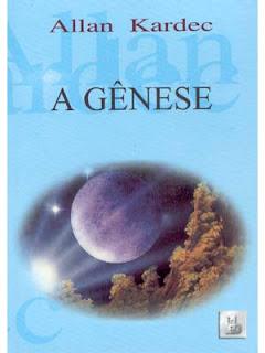 Capa do livro A Gênese, de Allan Kardec