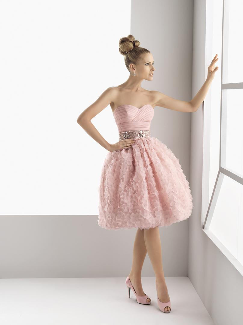 Vestido corto para una novia | Comparte Mi Moda