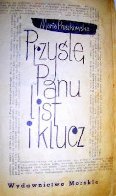 Maria Pruszkowska. Przyślę Panu list i klucz.