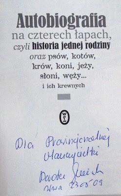 Dorota Sumińska. Autobiografia na czterech łapach.