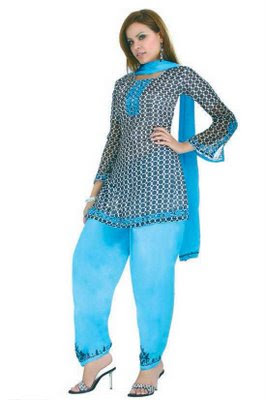Fancy Punjabi Salwar Suits