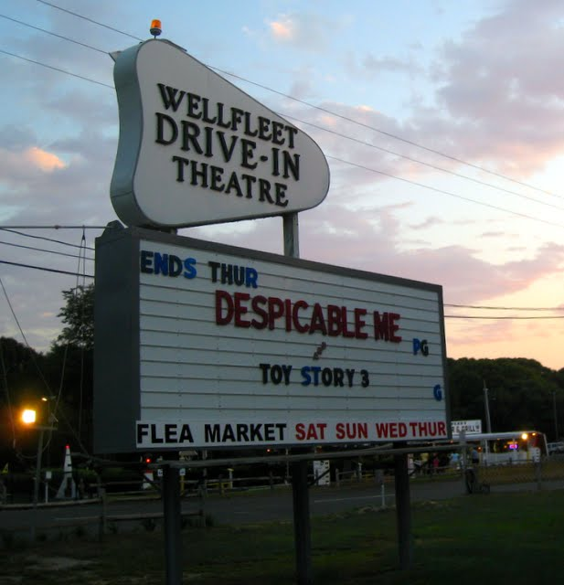 Eat Fly & Play: Wellfleet Drive-In Theater In Cape Cod
