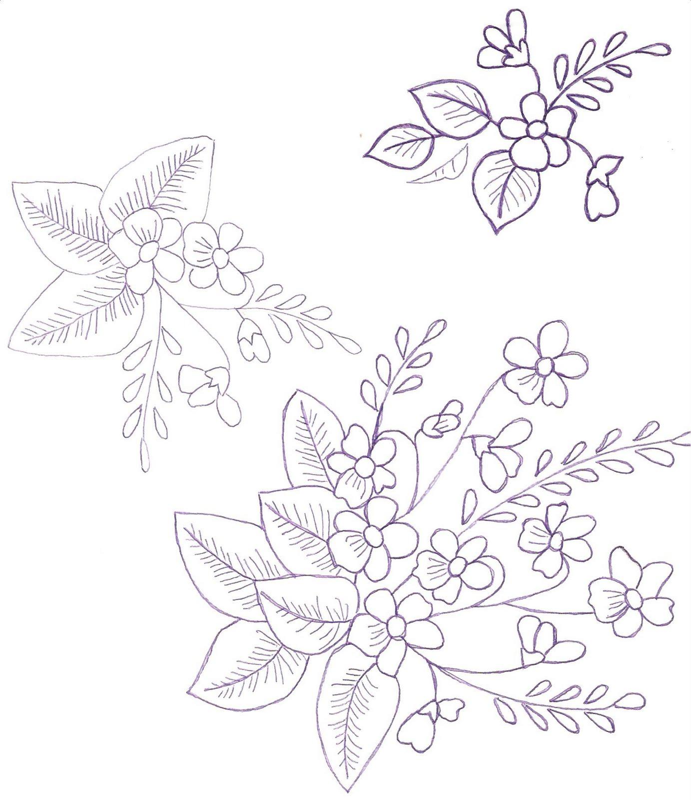 Varios modelos de flores