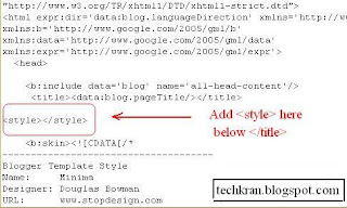 How to add Read More or Continue Reading in Blogger