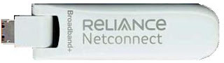Reliance Netconnect Broadband Plus 3.1 Mbps Plug and Play device