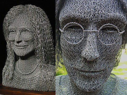 Esculturas com Arame feitas por Ivan Lovatt - 02