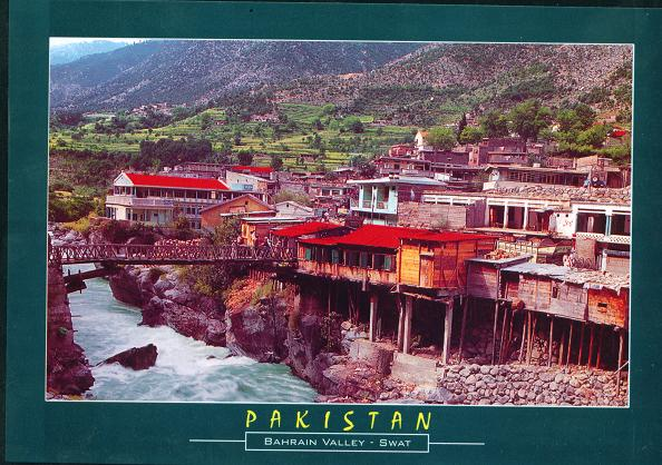L186 PakistanTypical2BHouses2Bof2BSwat2Bin2BBahrain2Bvalley2 - Travel Pakistan
