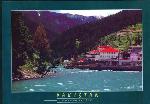 L190 PakistanBeautifulSwatRiverinKalamValleySwat2 - Travel Pakistan
