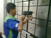bongkar dan ganti kunci SDL mosler di Bank Metro Express Klp Gading Jakarta