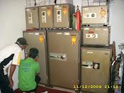 service 5 unit brandkas ichiban,daiciban & daici di Pemda Serang