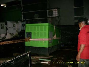 Pindahan Jenset ± 1,5 ton