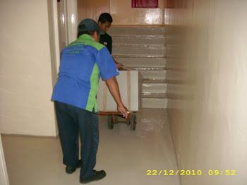 Pindahan Brandkas Chubb dari Apartemen Darmawangasa lt.16