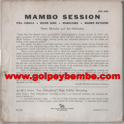 Noro Morales - Mambo Session Back
