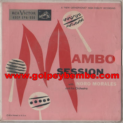 Noro Morales - Mambo Session Front