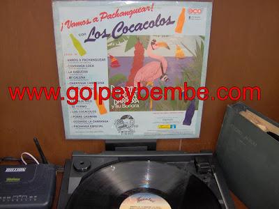 Roberto de la Barrera - Vamos a Pachanguear con los Cocacolos Back
