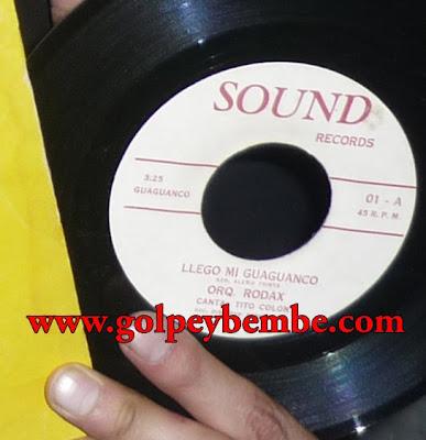 Orquesta Rodax 45 RPM