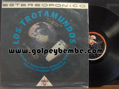 Los Trotamundos de Enrique Aguilar - Primer LP