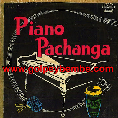 Johnny Conquet - Piano Pachanga Front