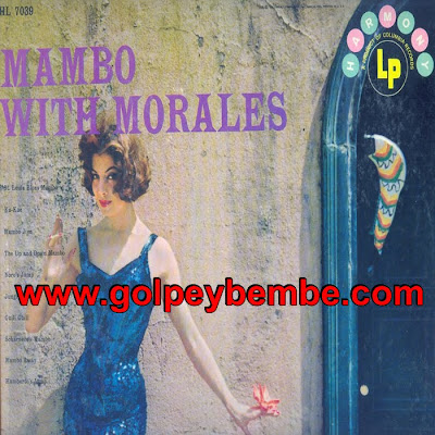Noro Morales - Mambo Whit Morales Front
