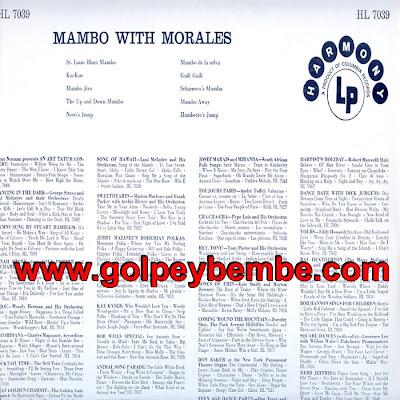 Noro Morales - Mambo Whit Morales Back