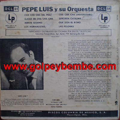 Pepe Luis y su Orquesta Back
