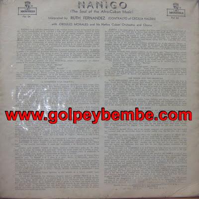 Obdulio Morales - Ñañigo Back