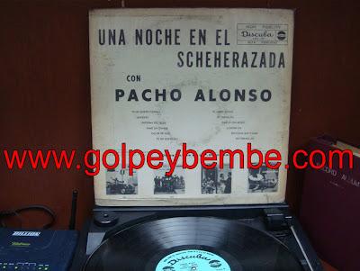 Pacho Alonso - Una Noche en el Sheherazada Back