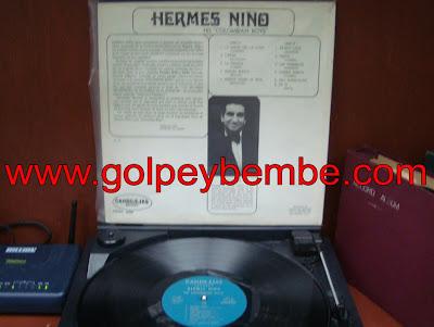 Hermes Niño y sus Colombians Boys - Primer lp back