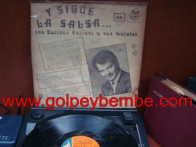 Luciano Luciani - Sigue La Salsa back