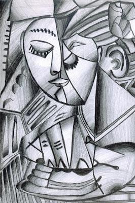 Gradasi Dalam kubisme Picasso
