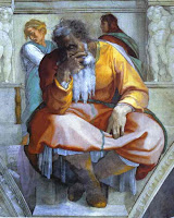 'Jeremiah' by Michelangelo @ ArtInThePicture.com