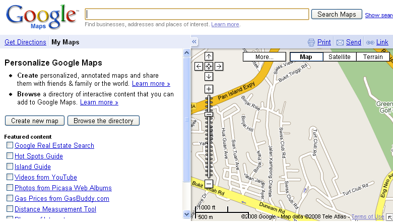 how to create map in google maps