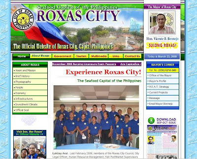 The Official Website of Roxas City