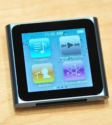 iPod Nano with Multi-Touch Display
