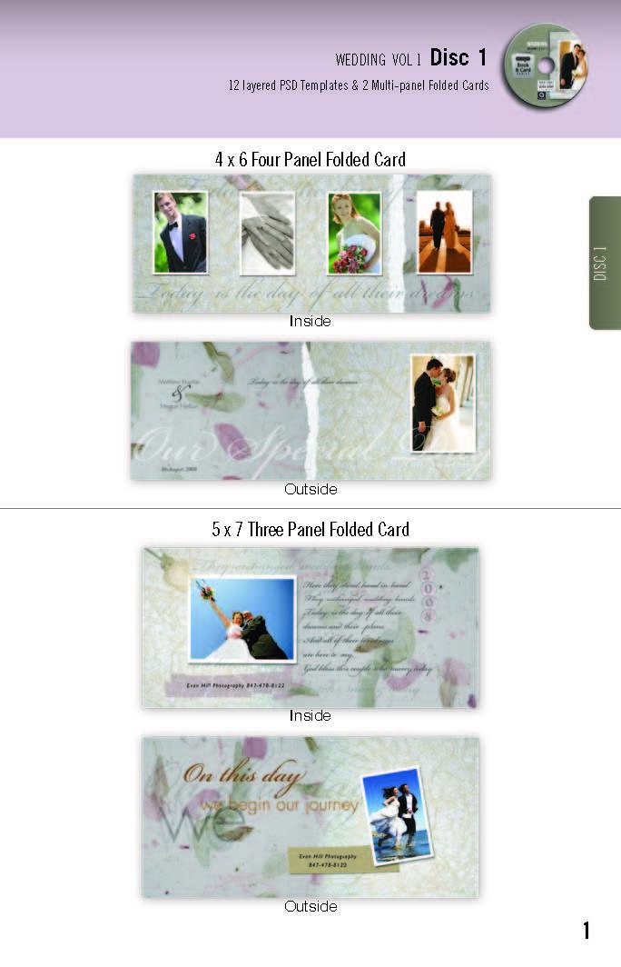 Graphic authority wedding templates vol.1