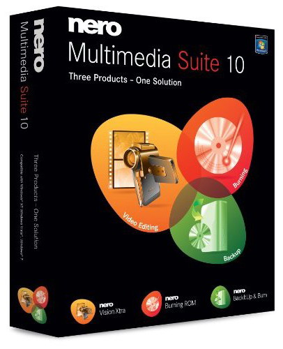 Nero Multimedia Suite 10 Multilanguage (1 dvd)