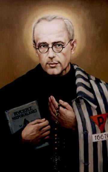 San Massimiliano Maria Kolbe dans immagini sacre kolbe